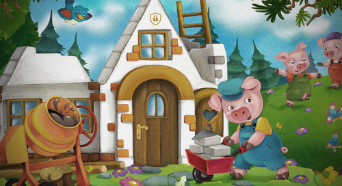 What The Three Little Pigs Can Teach Us About Cybersecurity
