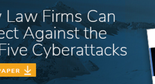 Where Should Law Firms Focus Spending on Cybersecurity?