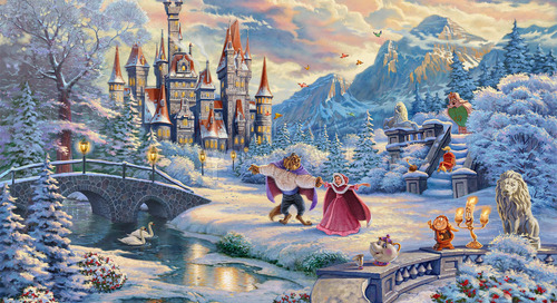 Beauty and the Beast's Winter Enchantment