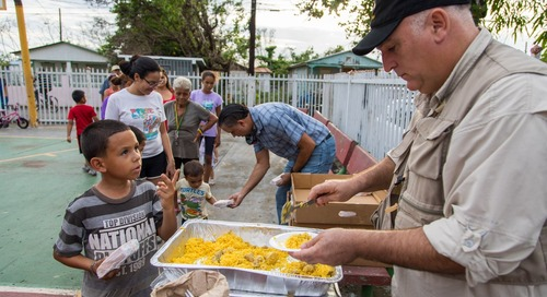 No Man Is an Island, But José Andrés Helped Feed One