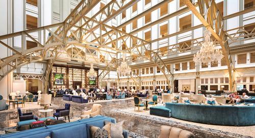 Forty-Nine Straight Hours Inside Trump's Washington Hotel