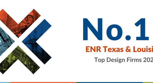 Audubon Companies Ranks No.11 in the ENR Texas & Louisiana Top Design Firms of 2020