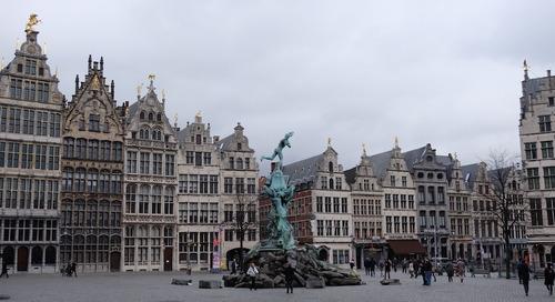 Empat Jam Sightseeing di Antwerp (Bagian Kedua)