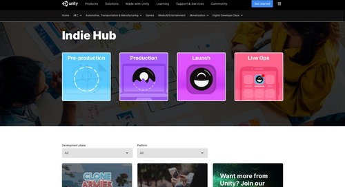 Introducing our content hub for indie developers