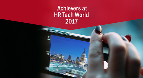 Achievers in Action at HR Tech World: March 21 & 22, London