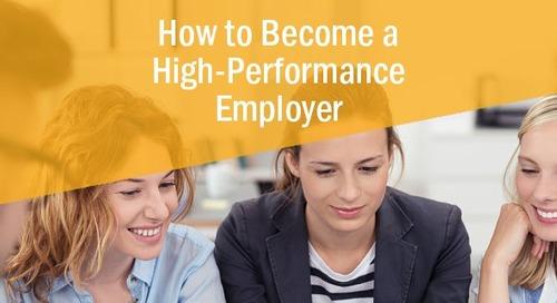 Designing a High-Performance Work Environment