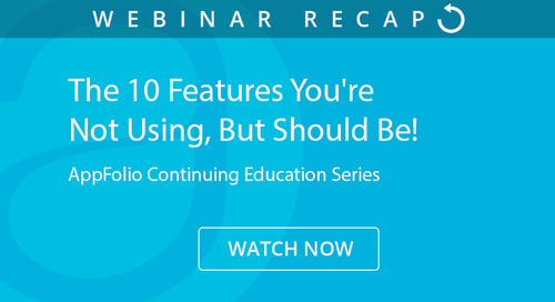 The 10 Features You're Not Using, But Should Be! (webinar recap)
