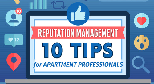 10 Tips For Managing Your Online Reputation [Infographic]