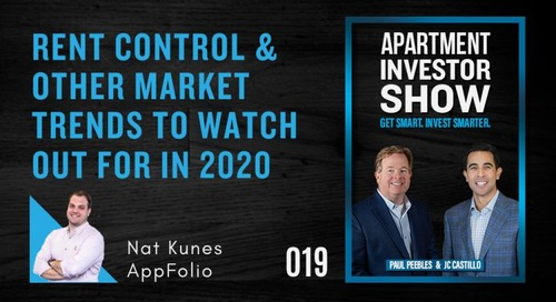 How Will Rent Control Impact Property Management Companies in 2020?