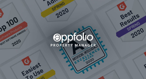 AppFolio Named a Leader in Property Management Software