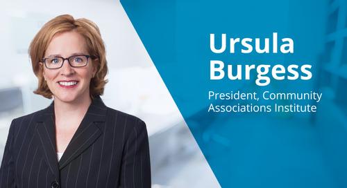 CAI President Ursula Burgess on Community Associations & Effective Leadership