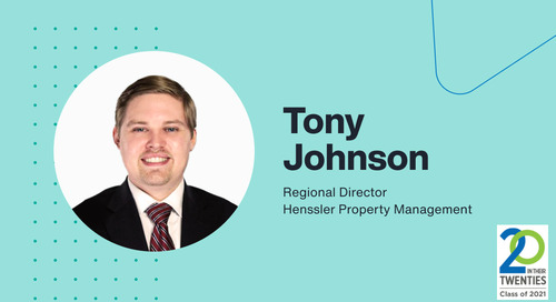 Rising Talent in Property Management: An Interview with Tony Johnson