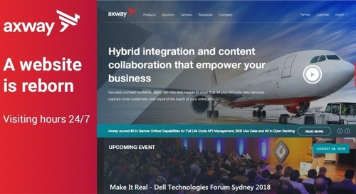 Axway.com is relaunched with a sleek new look