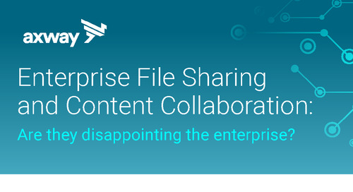 Enterprise file sharing and content collaboration [INFOGRAPHIC]