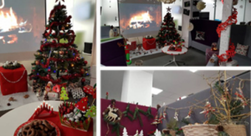 Axway Bucharest decorates Christmas in style!