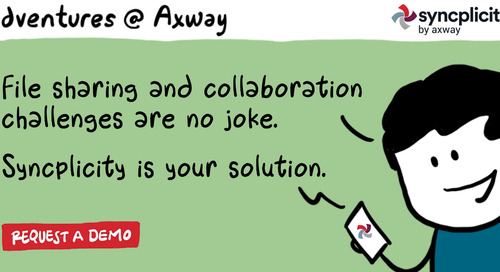 Adventures @ Axway: Always Be Ready