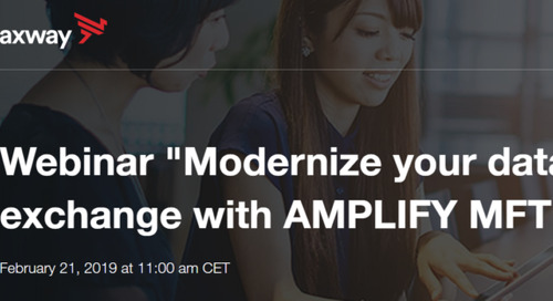 Modernize your data exchange with AMPLIFY MFT (version française fournie)