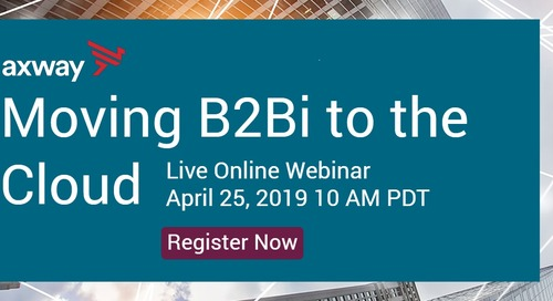 Moving B2B/EDI to the Cloud–live interview