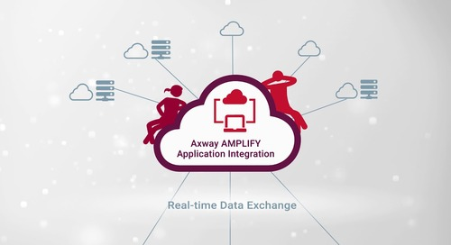 Axway AMPLIFY Application Integration announcement