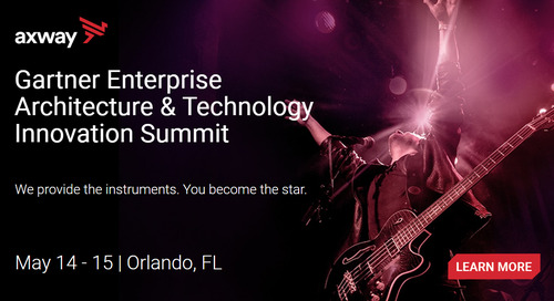 Join Axway for the Gartner Enterprise Architecture & Technology Innovation Summit in Orlando