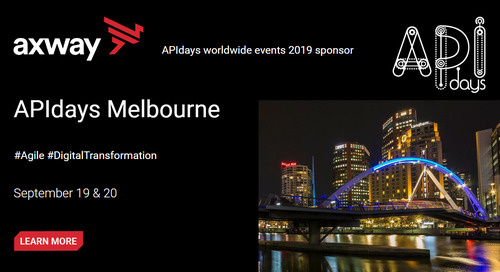 Join Axway for APIdays Melbourne on September 19th and 20th.