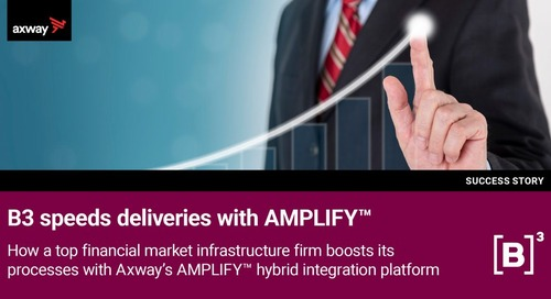 B3 streamlines deliveries with Axway AMPLIFY Platform