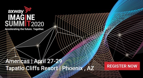 Register now for Super Early Bird pricing: IMAGINE SUMMIT AMERICAS 2020