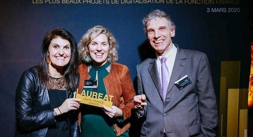 The Digital Finance Awards at the Pavillon Gabriel in Paris [Article in French with English Translation]