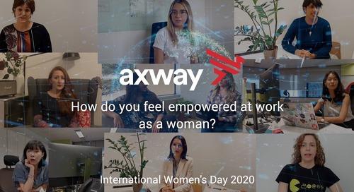 Celebrating Women at Axway on International Women's Day