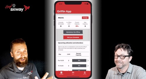 Take a video tour of the Griffin App, a tool for returning to the office safely