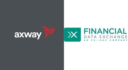 Axway joins Financial Data Exchange (FDX) to exchange ideas on Open Banking