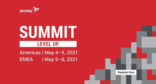 Get ready to level up at Axway Summit 2021