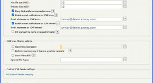 Axway SecureTransport Antivirus/DLP Scanning - Part 2
