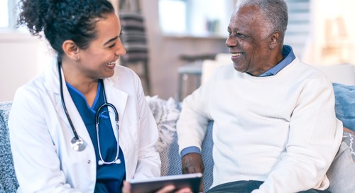 Responding to interoperability demands in healthcare with self-service and automation