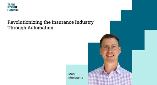 Transforming the Insurance industry