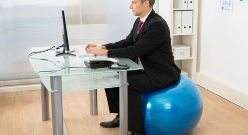Healthy Habits:Exercising at Your Desk