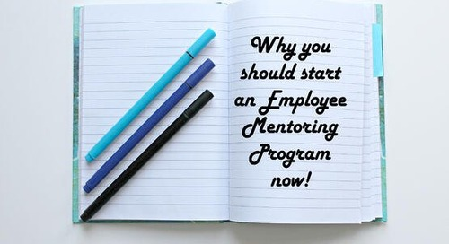 Why You Should Start an Employee Mentoring Program Now