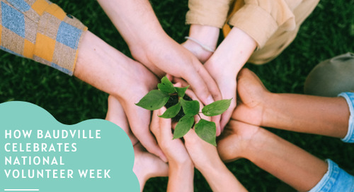 How Baudville Celebrates National Volunteer Week