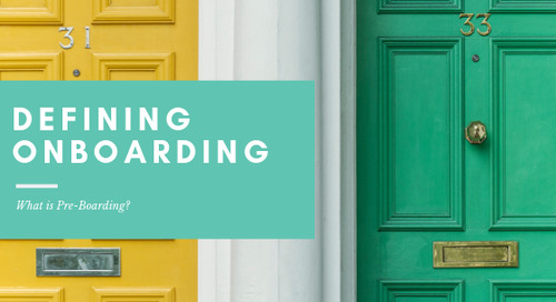 Defining Onboarding: What is Pre-Boarding?