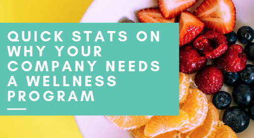 Quick Stats on Why Your Company Needs a Wellness Program