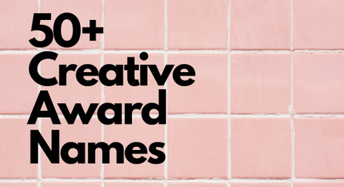 32 Creative Employee Award Names