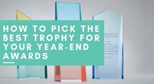 How to Pick the Best Trophy for Your Year-End Awards