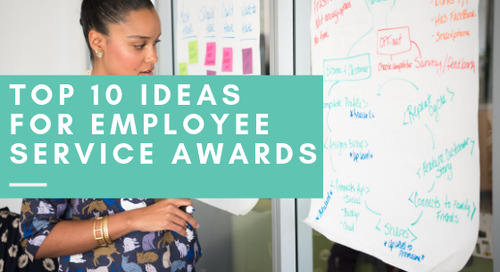 Top 10 Ideas for Employee Service Awards