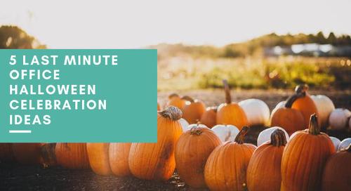 5 Last Minute Office Halloween Celebration Ideas