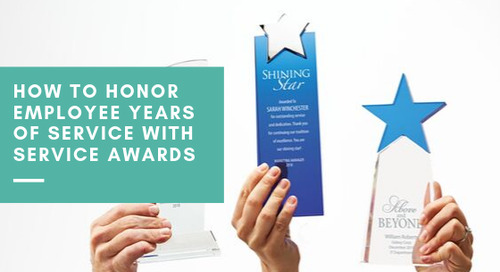 How to Honor Employee Years of Service with Service Awards
