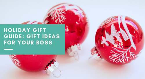 Holiday Gift Guide: Gift Ideas for Your Boss