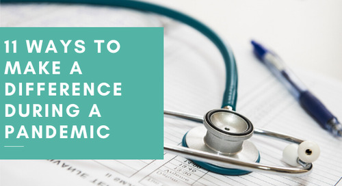 11 Ways To Make A Difference During A Pandemic