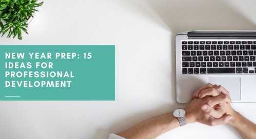New Year Prep: 15 Ideas for Professional Development