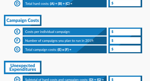How Much Should You Budget for 2019? Free Marketing Budget Template