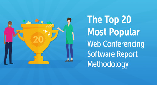 Top 20 Most Popular Web Conferencing Software Report Methodology